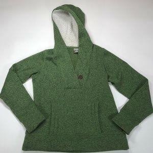 Nike ACG Women's Green Pull Over Hoodie Sweater L